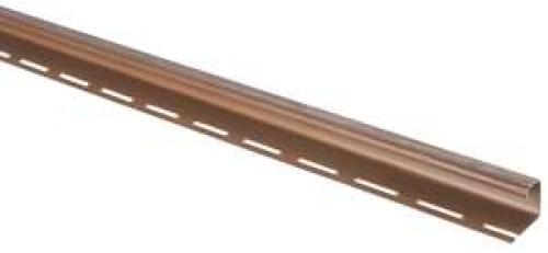 """Сайдинг Планка """"J - trim"""" Аляска Браун А-15 - 3,00м"""