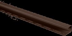 "Сайдинг Планка ""J - trim"", 3000 мм, цвет Коричневый"