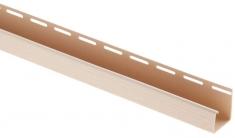 "Сайдинг Планка ""J - trim"", 3660 мм, цвет Бежевый, арт. 6376"
