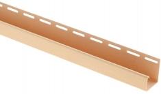 """Сайдинг Планка """"J - trim"""", 3660 мм, цвет Золотистый"""