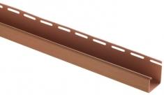 "Сайдинг Планка ""J - trim"", 3660 мм, цвет Дуб светлый, арт. 6394"
