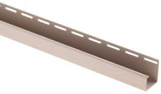 """Сайдинг Планка """"J - trim"""", 3660 мм, цвет Персиковый"""