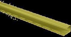 """Планка """"J - trim"""" Оливковая Т-15 - 3,00м"""