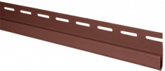 """Планка """"финишная"""" Красно-коричневая Т-14 - 3,00м (А)"""
