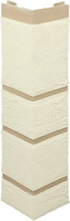 Наружный угол Камень белый