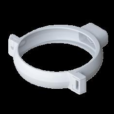 Хомут трубы для водосточной системы Элит (цвет белый)